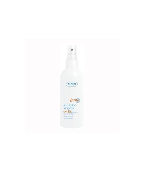 Protector solar en spray SPF 30 UVA+UBV.