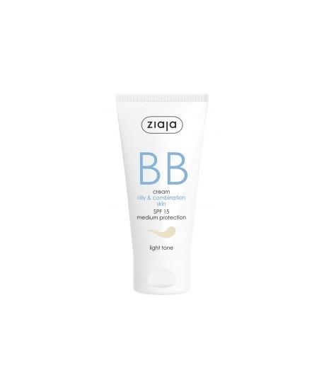 BB cream pieles grasas y mixtas SPF15 Tono Claro