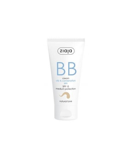 BB cream pieles grasas y mixtas SPF15 Tono Natural