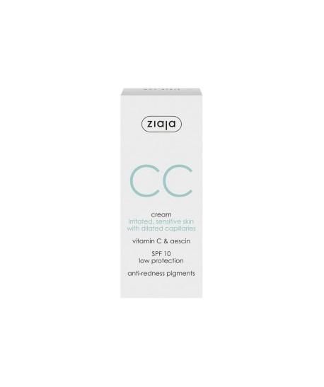 CC cream correctora para pieles irritadas y sensibles