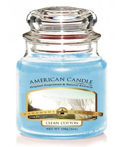 VELA AMERICAN CANDLE MINI COTTON