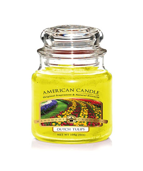 VELA AMERICAN CANDLE MINI AROMA DUTCH TULIPS
