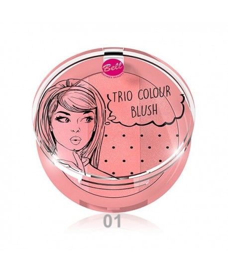 Colorete en trio Colour Blush