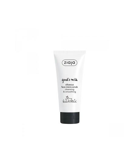 Micro-exfoliante facial con sílice leche de cabra