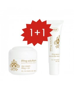 Set Lifting solution Crema de día + Serum ¡gratis!