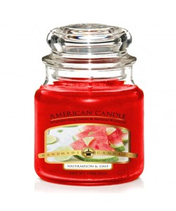 Vela mini American Candle Watermelon y Lima