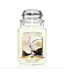 Vela Big American Candle Coconut Palm