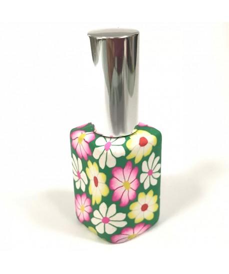 Perfumador vintage rombo verde