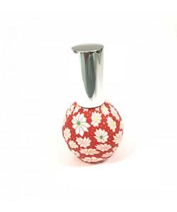 Perfumador vintage redondo rojo