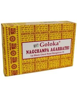 Goloka Nag Champa incienso 16g