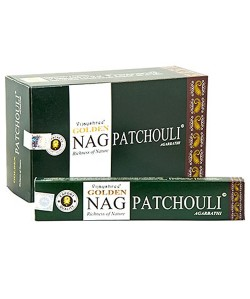 Incienso Golden Nag Patchouli
