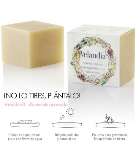 Jabón artesano natural vegano Velandia