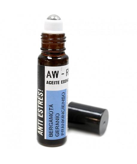 Aceite esencial mezcla roll on anti estrés