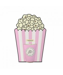 VELA FANCY POPCORN PARTY CON MENSAJE