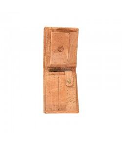 Cartera hombre billetera-monedero corcho ecológico