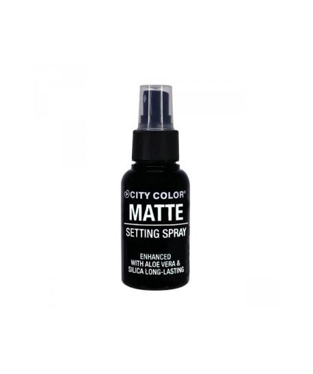 Spray fijador del maquillaje MATTE City Color