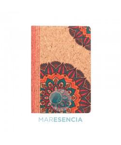 Cuaderno corcho ecológico estampado Candela