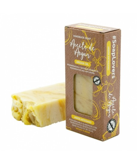 Jabón artesano natural Argan