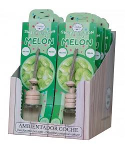 Ambientador de coche aroma melón