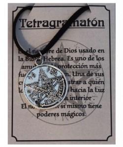 TETRAGRAMATÓN TALISMÁN DE PROTECCIÓN