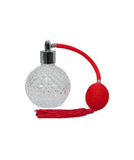 Perfumador vintage con borla roja 100ml