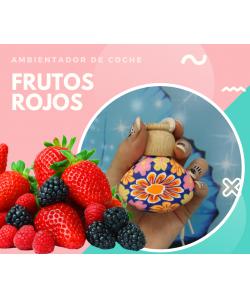 AMBIENTADOR COCHE FRUTOS ROJOS