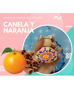 AMBIENTADOR COCHE CANELA NARANJA