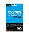 Máscara para rostro de fibras ECO, OXÍGENO