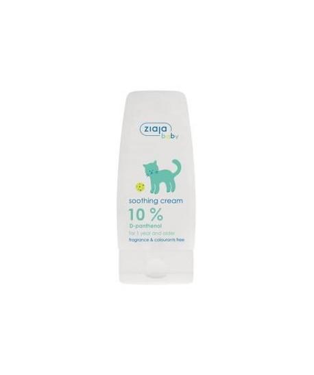 Crema calmante para bebés con 10% D-Panthenol