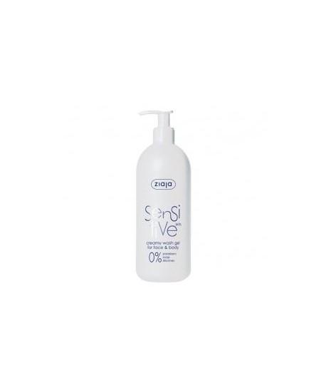 Sensitive Gel limpiador rostro y cuerpo para pieles sensibles
